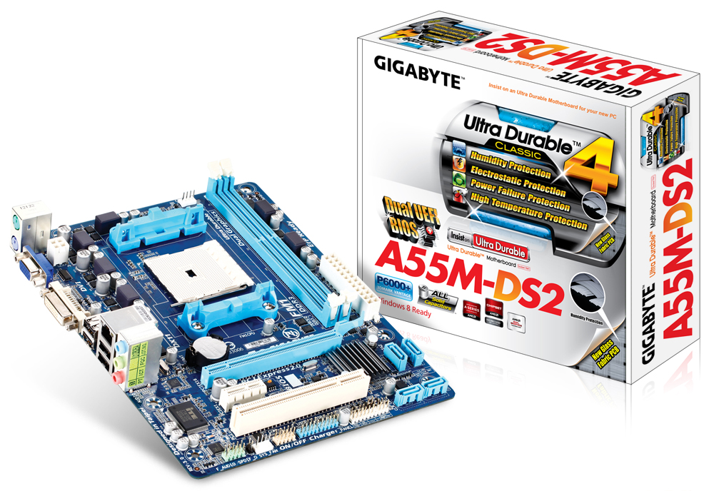 Drivers for Gigabyte GA-A55M-DS2