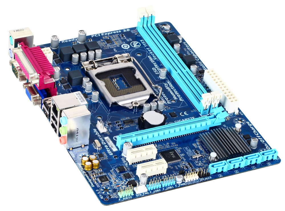 Drivers and utilites for Gigabyte motherboards - choice of model