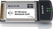 Belkin F5D8011 N1 Wireless Notebook Card